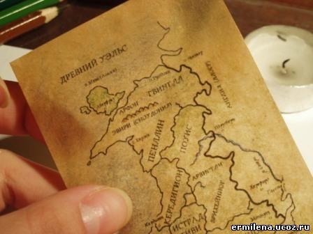 Карта мародеров своими руками
